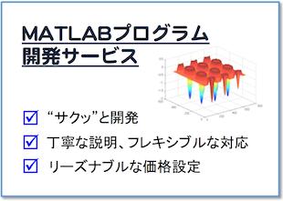 MATLABプログラム開発サービスのイメージ